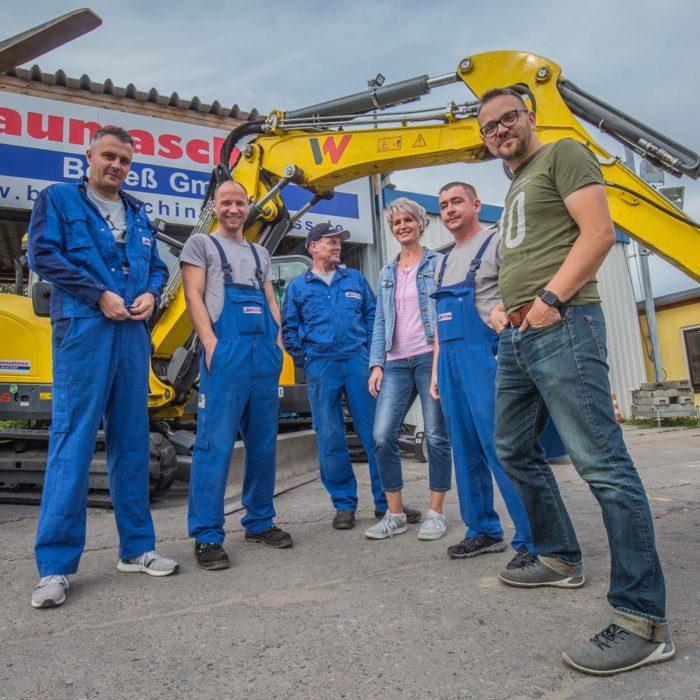 Unser Team Neustrelitz - Baumaschinen Boneß GmbH » Baumaschinen Boneß GmbH