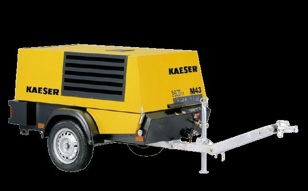 Kompressor Kaeser 43 M » Baumaschinen Boneß GmbH