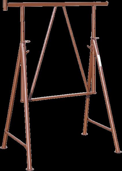 Gerüstbock Höhe 1,20 m - 1,95 m » Baumaschinen Boneß GmbH