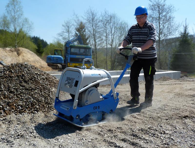 Bodenverdichter CR 5 Hd Benzin » Baumaschinen Boneß GmbH
