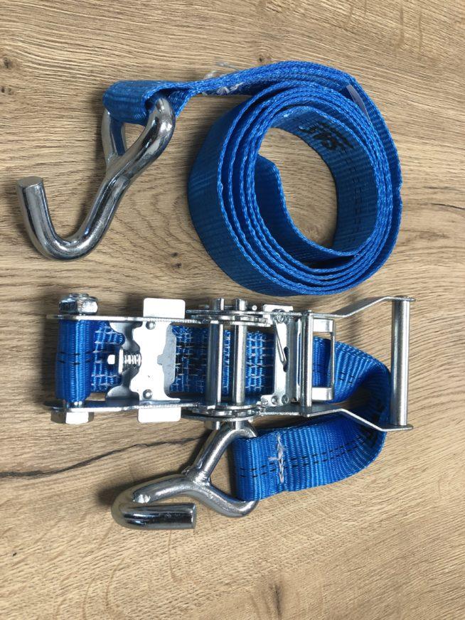 Zurrgurt 2 m/35 mm » Baumaschinen Boneß GmbH