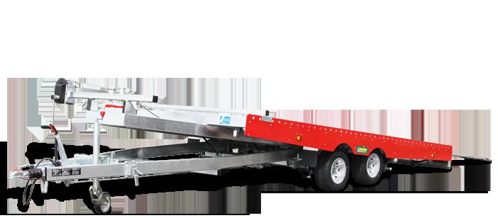 PKW - Autotrailer Unsinn 2,6t kippbar » Baumaschinen Boneß GmbH
