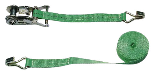 Zurrgurt 6 m zweiteilig Grün LC 2000 daN » Baumaschinen Boneß GmbH