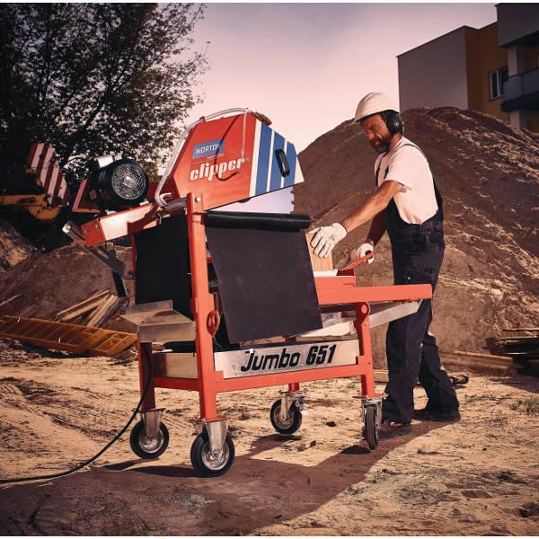 Jumbo 651 - Blocksteinsäge » Baumaschinen Boneß GmbH