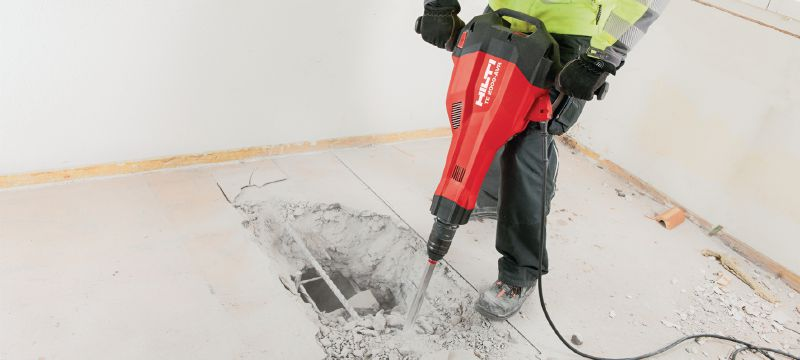 HILTI TE 2000-AVR Abbruchhammer » Baumaschinen Boneß GmbH