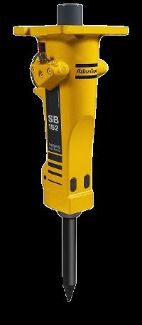 Hydraulikhammer EPIROC SB152 MS03 » Baumaschinen Boneß GmbH