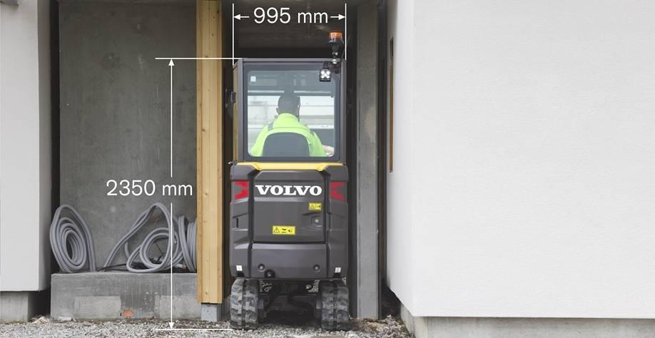 Minibagger ET Volvo EC18E » Baumaschinen Boneß GmbH