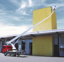 Hebebühne LKW Palfinger P300KS » Baumaschinen Boneß GmbH