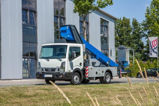 LKW-Arbeitsbühne Klaas Theo 20 » Baumaschinen Boneß GmbH