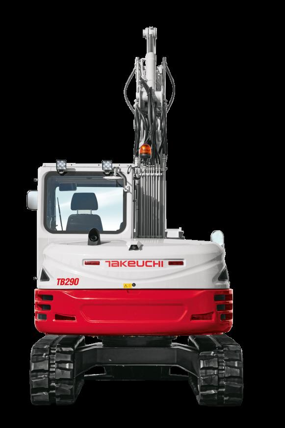 Kettenbagger Takeuchi TB290CM-AV4 » Baumaschinen Boneß GmbH