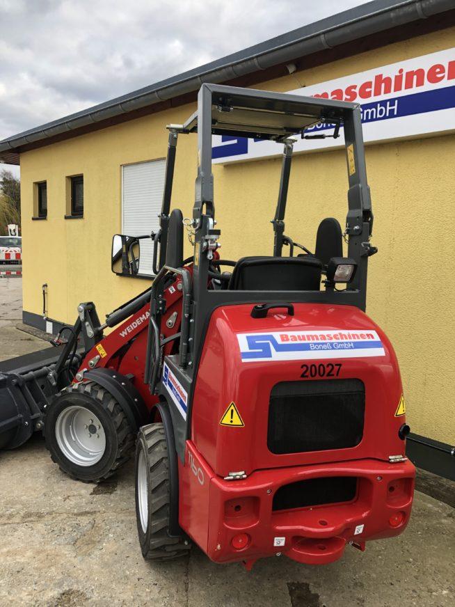 Kompaktlader 1160 » Baumaschinen Boneß GmbH