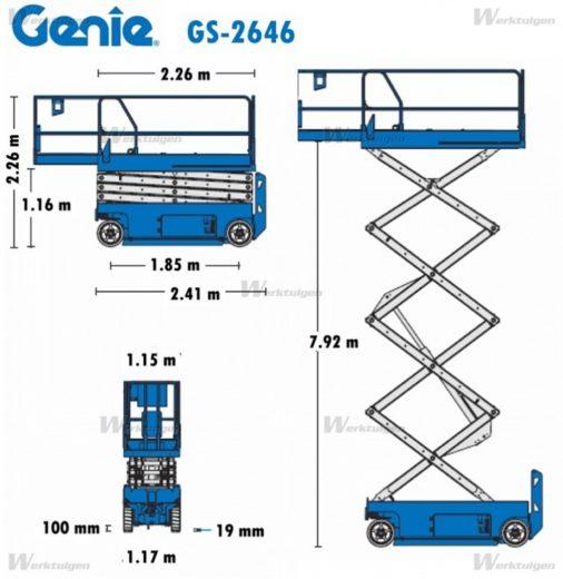 Hebebühne Genie 2646 » Baumaschinen Boneß GmbH