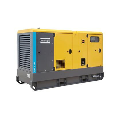Stromerzeuger QAS5 120 kVA » Baumaschinen Boneß GmbH