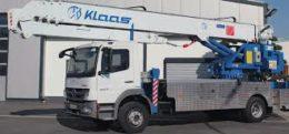 Dachdeckerkran LKW Klaas K29-34 » Baumaschinen Boneß GmbH